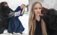 Žena iz Rusije spasila je medvjeda Archieja od gladi, sada ih veže neraskidivo prijateljstvo