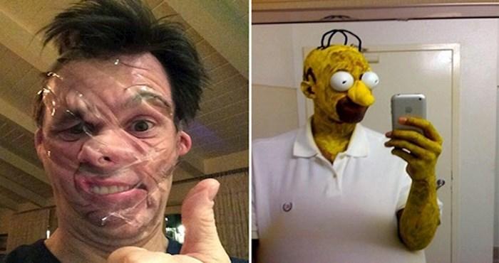 20 čudnih i bizarnih selfija koje je nemoguće objasniti
