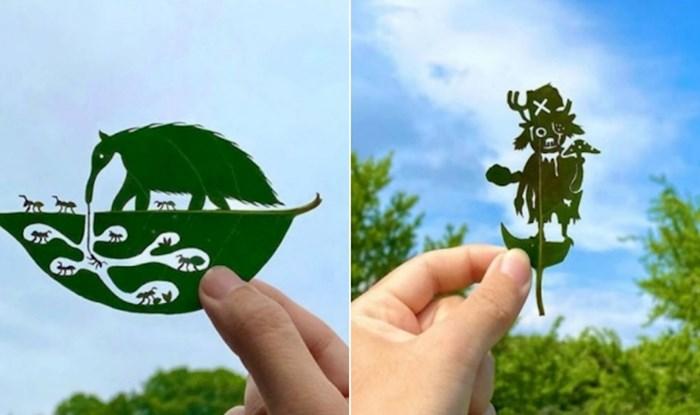 Kreativac iz Japana pretvara otpalo lišće u umjetnička djela, izdvojili smo njegove najbolje radove