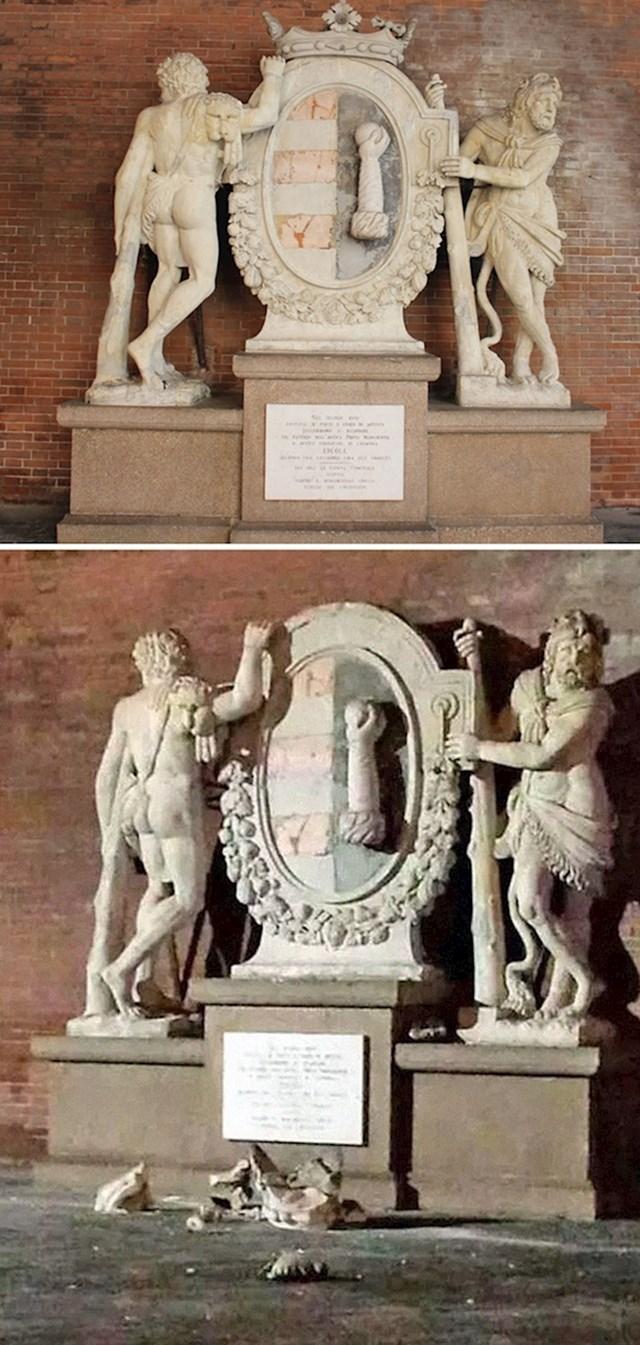 #19 Ovaj talijanski spomenik još je jedna žrtva turista koji je htio uslikati selfie