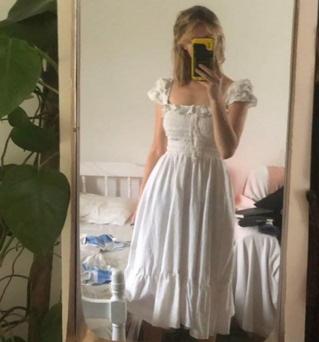 13. Lijepa ljetna haljina napravljena od starih plahti