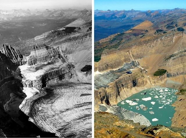 14. Ledenjak Grinnell danas je jedva poznat ledenjak.