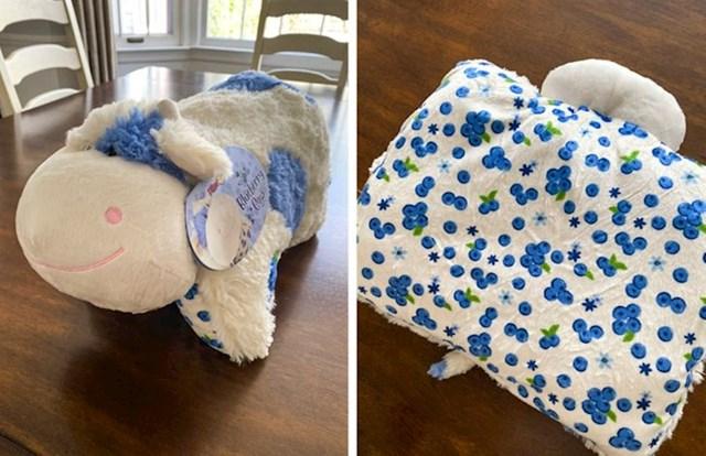 10. Mekani jastučić u obliku krave