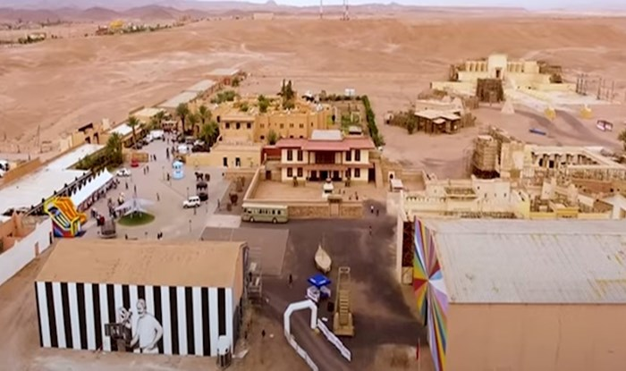 VIDEO Pogledajte kako izgleda najveći filmski studio na svijetu u marokanskoj pustinji