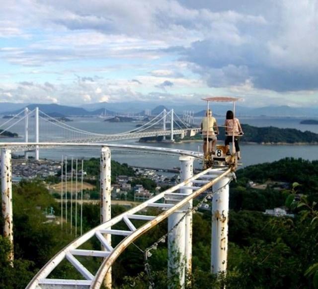 9. Zanimljiv način za razgledati grad iz druge perspektive; fotkano u Japanu