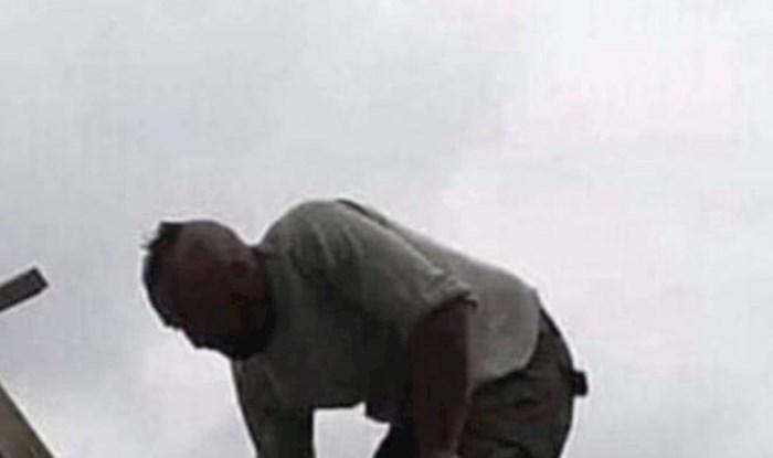 Građevinski radnik postao je viralni hit zbog svoje nevjerojatne gluposti, pogledajte što izvodi