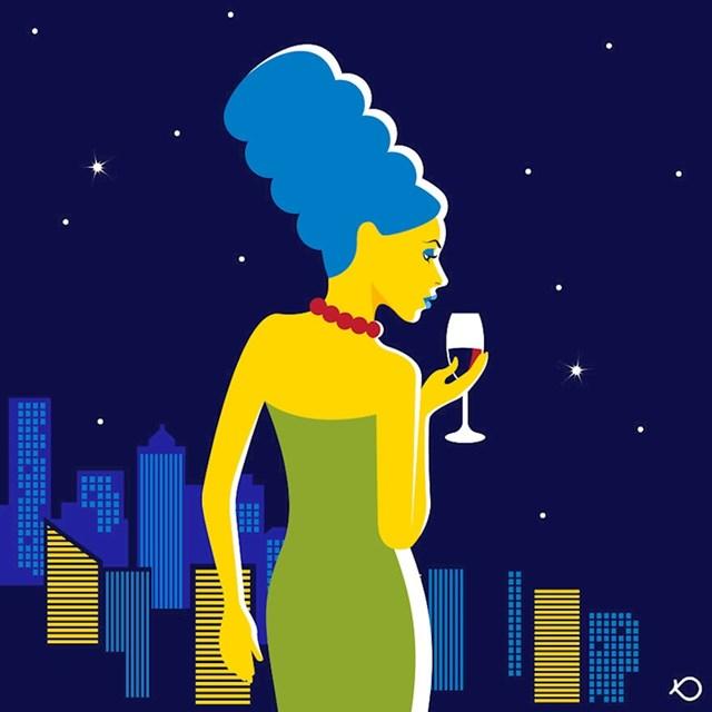 1. Marge Simpson