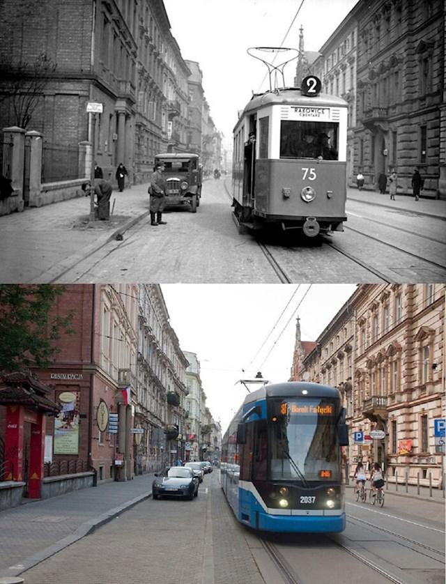 11. Krakov, Poljska,  1939. i danas