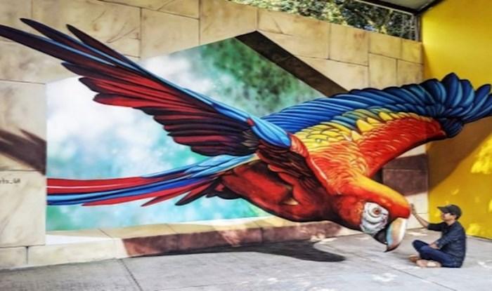 Umjetnik iz Meksika ukrašava ulice 3D grafitima koje morate dodirnuti da se uvjerite da nisu stvarni