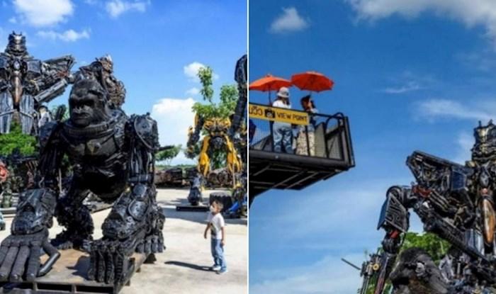 Na Tajlandu postoji park u kojem metalni otpad postaje umjetnost, fenomenalan je