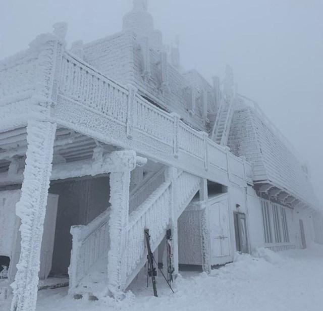 15. Prizor na koji možete naići ako odete na skijanje u Kanadu