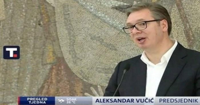 Čudna pogreška iz dnevnika postala je hit na internetu, morate vidjeti kako su potpisali Vučića