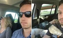 Njegova žena zaspe svaki put kad putuju autom, za osvetu je napravio galeriju smiješnih fotki