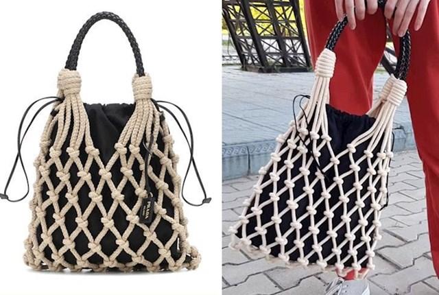 20. Vidjela sam ovu predobru Pradinu torbicu. Koštala je 1, 300 eura, pa sam ju odlučila napraviti sama.