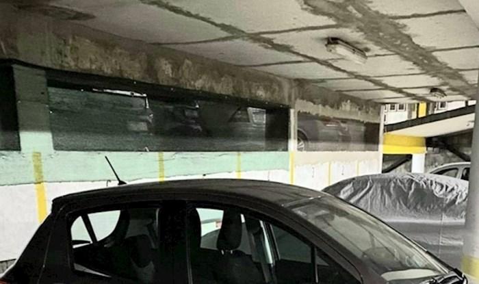 Dalmatinac je oduševio internet nesvakidašnjom metodom zaštite auta od bočnih udaraca