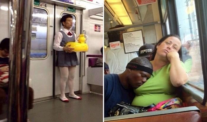Najveći čudaci koje su ljudi uočili tijekom vožnje u podzemnoj željeznici
