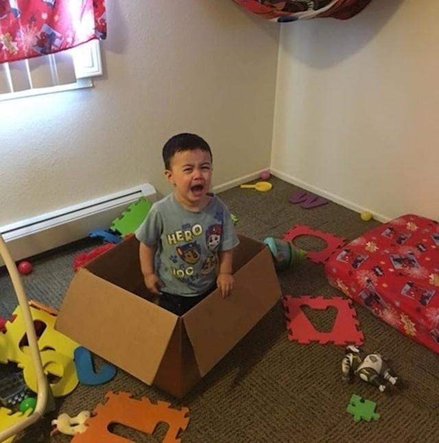 """14. """"Moj sin se derao da je zaglavljen. Kad sam došla u sobu, dočekalo me ovo."""""""