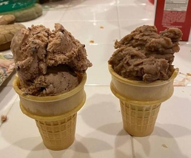 9. Žena je rekla da želi sladoled...