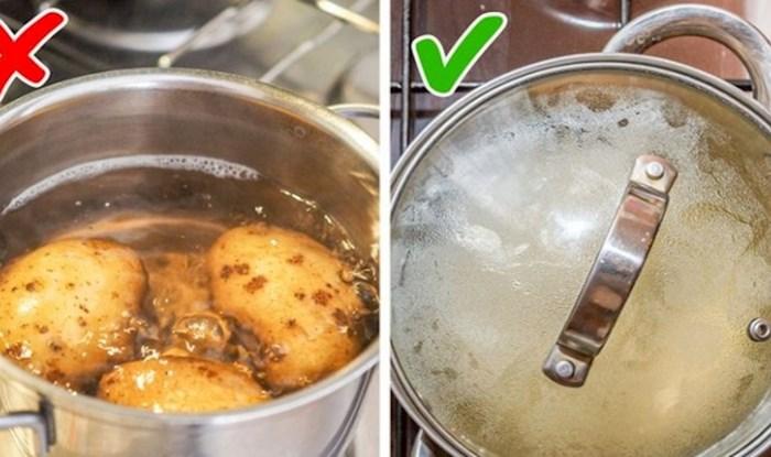 9 velikih pogrešaka koje većina ljudi radi pri kuhanju
