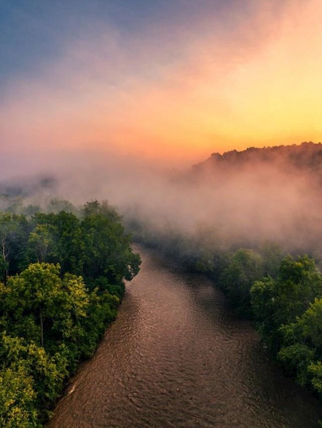 """""""Ovakva magla događa se jako rijetko i bio sam pravi sretnik što sam uspio fotografirati ovo."""""""