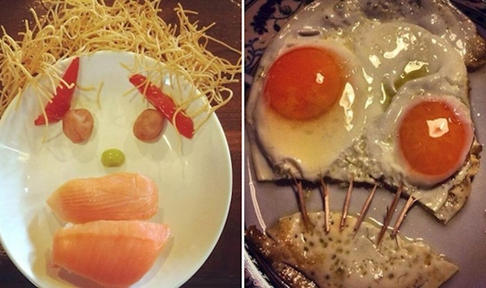 20 samaca koji su podijelili svoje otužne obroke