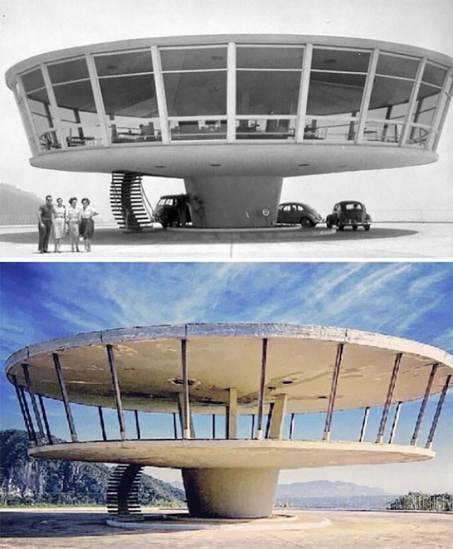 8. Restoran u Brazilu, 1950-ih i danas