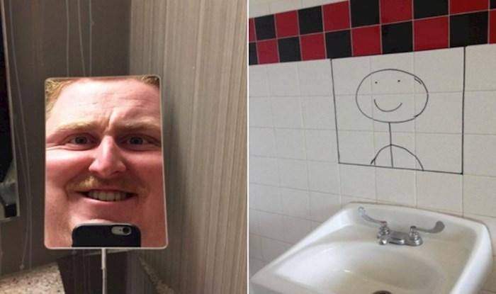20 kupaonica s neshvatljivo čudnim zrcalima