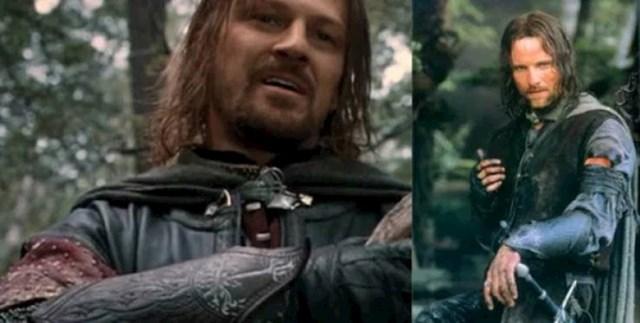 8. Postoje razni načini da se lik zadrži i filmu i nakon njegove smrti, ali Gospodar prstenova odabrao je pametan (i simboličan) način da to učini. Aragorn nosi Borormirove kožne narukvice nakon što umre na kraju prvog dijela, noseći ih sve do kraja trilogije.