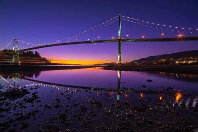 12. Zalazak sunca na zapadu Kanade...