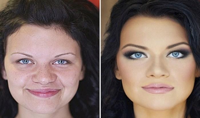 19 žena podijelile su fotke prije i poslije šminkanja, rezultati su zapanjujući