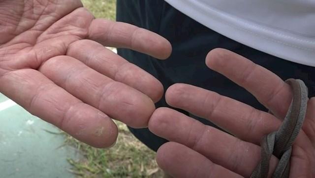 8. Lijeva ruka profesionalnog streličara puno je deblja nego desna