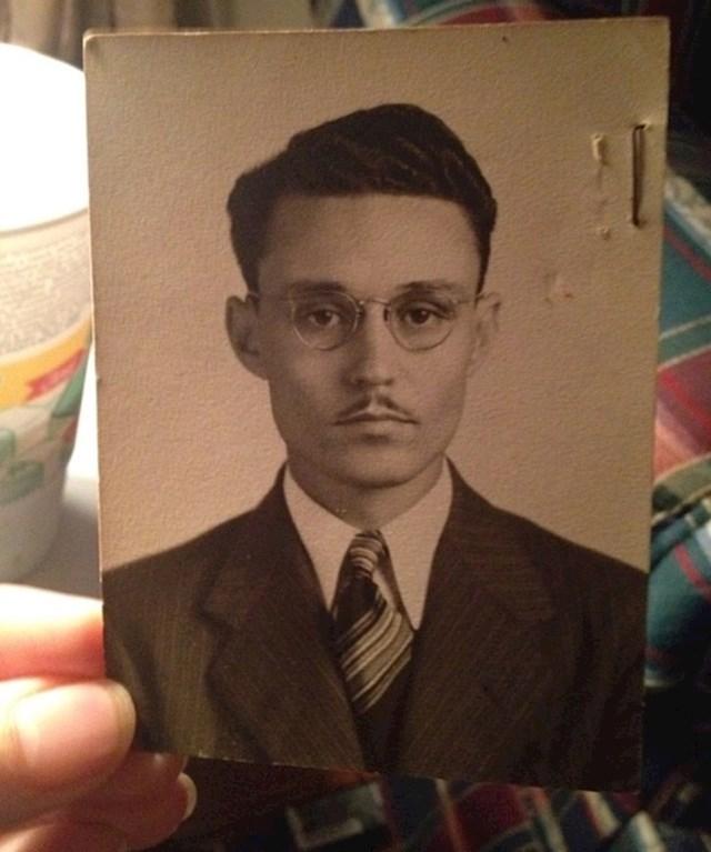 """""""Moj djed izgleda kao blizanac Johnnyja Deppa."""""""