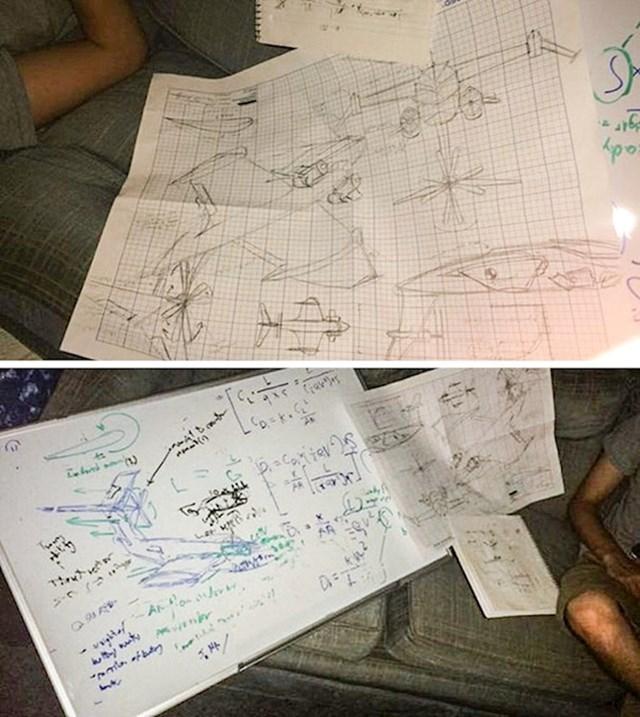 """15. """"Moj cimer je sinoć nakon tuluma projektirao ovaj avion. Uopće se ne sjeća toga."""""""