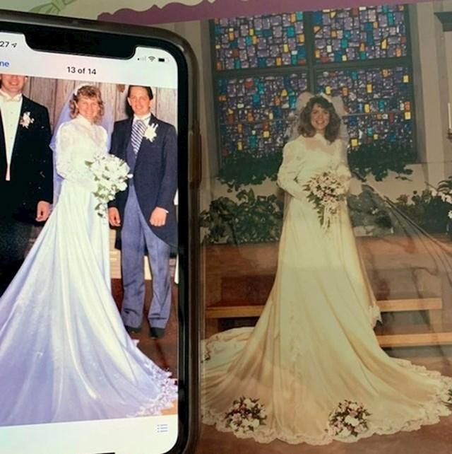 """""""Zaručnica i ja otkrili smo da su nam majke nosile iste vjenčanice."""""""