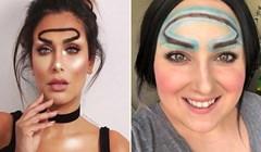 Čudne obrve stilizirane u obliku aureole novi su trend na Instagramu