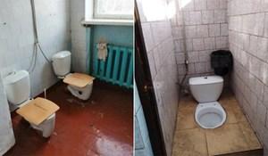 Društvenim mrežama šire se fotke koje pokazuju stanje školskih zahoda u Rusiji, zgrozit će vas