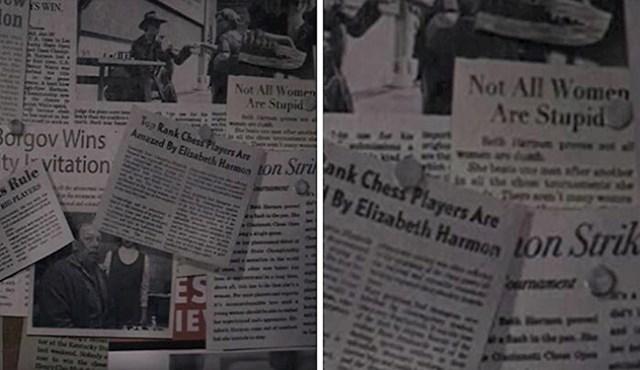 """#11  """"Nisu sve žene glupe"""", naslov je jednog novinskog članka koji je Bethin prvi učitelj čuvao na zidu."""