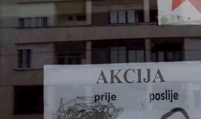 Ne možete se ne nasmijati natpisu kojim ovaj frizer nastoji primamiti muške mušterije