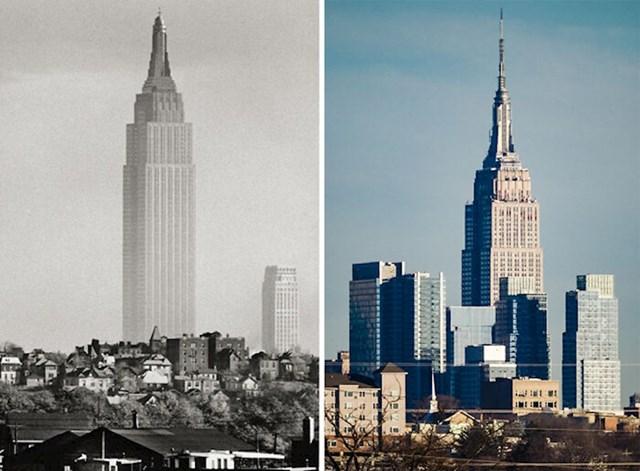 18. Empire State Building u 30-tima i danas