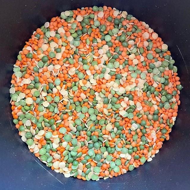 2.  Žitarice izgledaju kao Ishihara test (test vida za raspoznavanje boja).