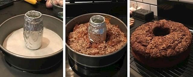 4. Ako nemate kaulp za kuglof, možete ga pripremiti i ovako