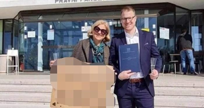 Fotka koja je oduševila Balkan, morate vidjeti kako je mama čestitala sinu na završenom fakultetu