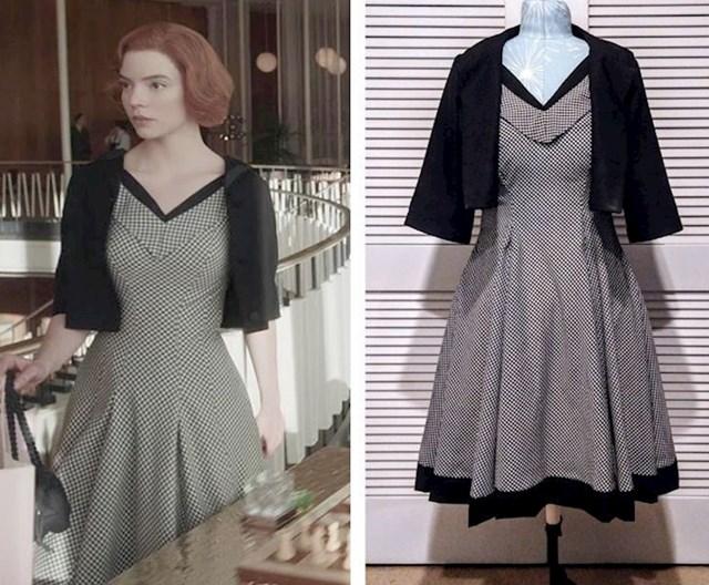 7. Sašila sam predobru haljinu koju sam vidjela u Netflixovoj seriji Damin Gambit.