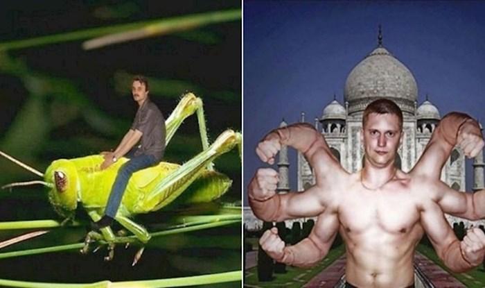 20 bizarnih fotomontaža koje su ljudi s ponosom objavili na društvenim mrežama