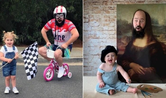 Genijalne fotke tate i njegove preslatke kćerke odmah će vas oraspoložiti