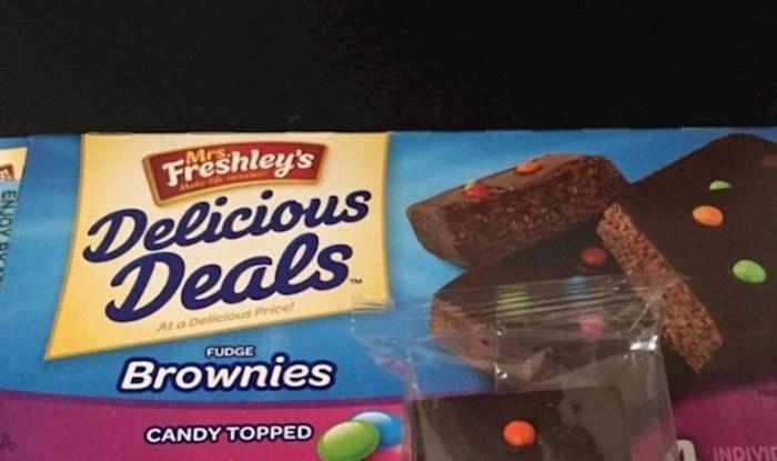 Kupio je brownije, kad ih je otvorio odmah su mu se digli živci i pokvario dan