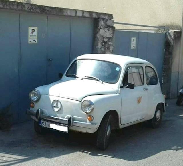 ...tada nastaje novi hibrid auta - Fićedes! 😂