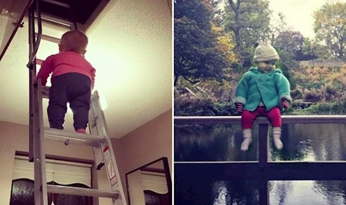 Duhoviti tata pomoću fotošopa stvara fotke svoje kćeri u opasnim situacijama da naživcira rođake