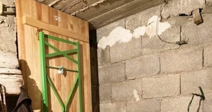 """Dalmatinac je u konobu montirao """"protuprovalna"""" vrata iz kućne radinosti i nasmijao tisuće na Fejsu"""