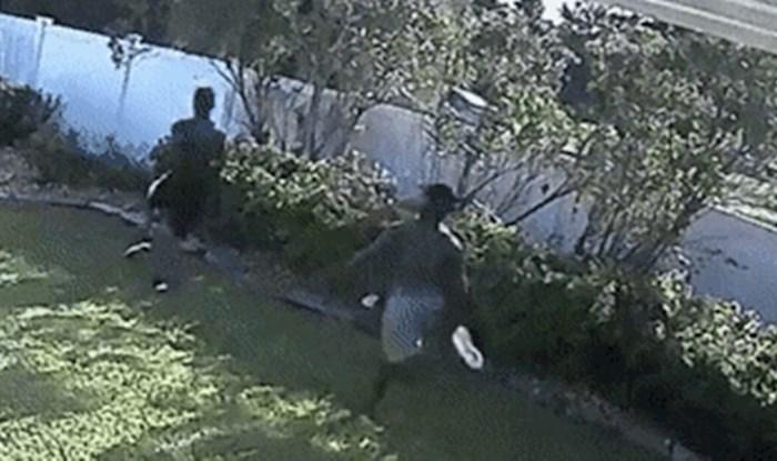 Tijekom lova na kriminalce, jedan policajac nije htio gubiti vrijeme na preskakivanje ograde